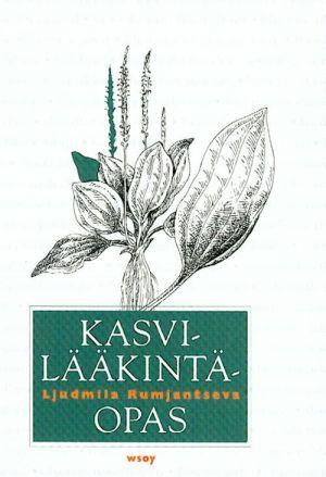Kasvilääkintäopas. Spravochnik po lekarstvennym rastenijam. Na finskom jazyke.