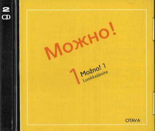 Mozno! 1 Venäjän alkeet. 2 CD-levyä. Harjoituskirja-CD ja tekstikirja-CD. Mozhno! 1. (Luokkaäänite) (Oppikirjan voi tilata erikseen.)