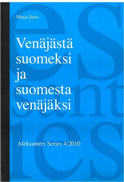 Venäjästä suomeksi ja suomesta venäjäksi.