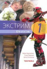 Ekstrim 1. Tekstikirja. Hinta sisältää kirjan ja yhden CD-levyn.