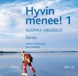 Hyvin menee! 1. 2 CDs. (text book can be ordered separately).