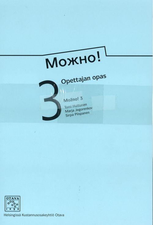 Mozno! 3 Opettajan opas. Mozhno! 3.