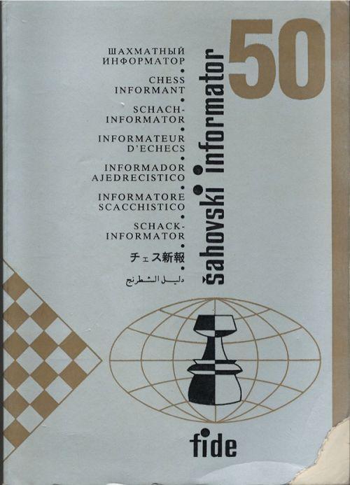 Chess Informant # 50