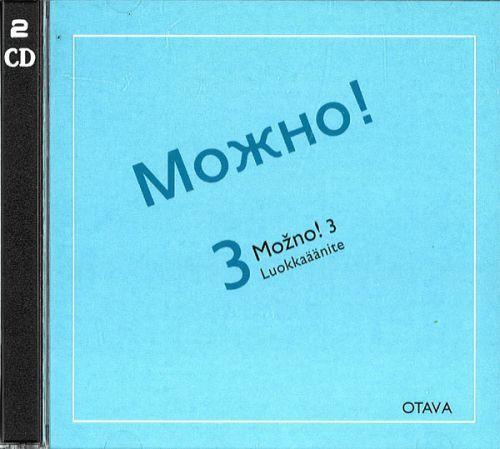 Mozno! 3 Luokkaäänite. 2 CD-levyä. Mozhno! 3. (Oppikirjan voi tilata erikseen.)