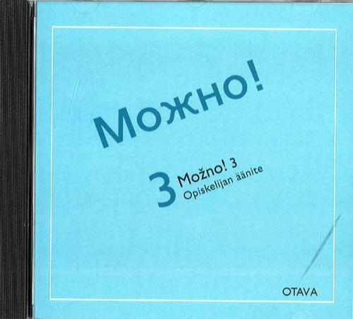 Mozno! 3 Opiskelijan äänite CD. Mozhno! 3. (Oppikirjan voi tilata erikseen.)