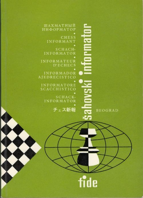 Chess Informant # 33