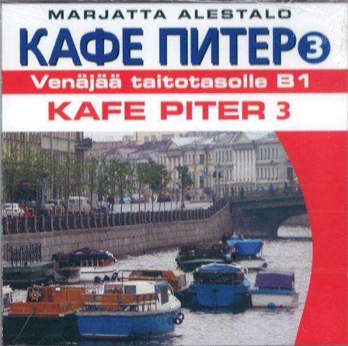 Kafe Piter 3. 2 CD-levyä. Venäjää taitotasolle B1