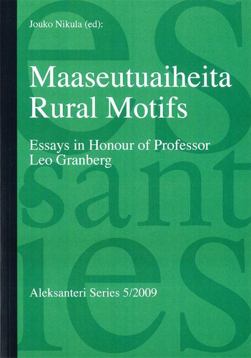 Maaseutuaiheita - Rural Motifs (на английском и финском языках)