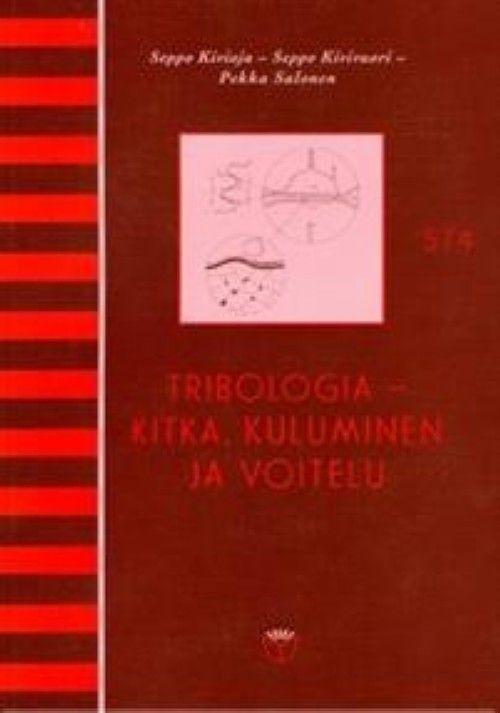 Tribologia kitka, kuluminen ja voitelu