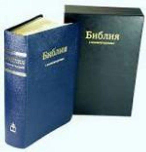 Библия с комментариями. Книги Священного Писания Ветхого и Нового Завета в Синодальном переводе с комментариями и приложениями