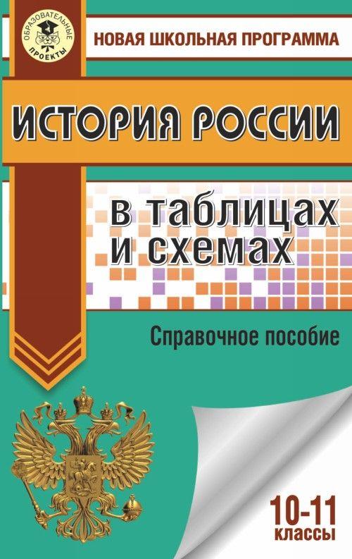 EGE. Istorija Rossii v tablitsakh i skhemakh. 10-11 klassy