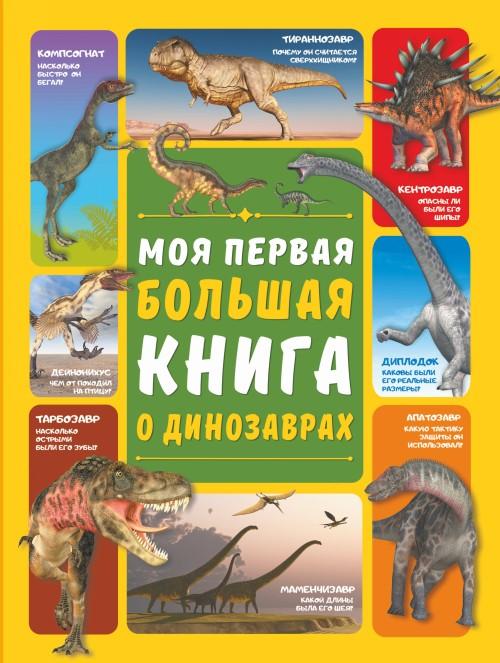 Moja pervaja bolshaja kniga o dinozavrakh