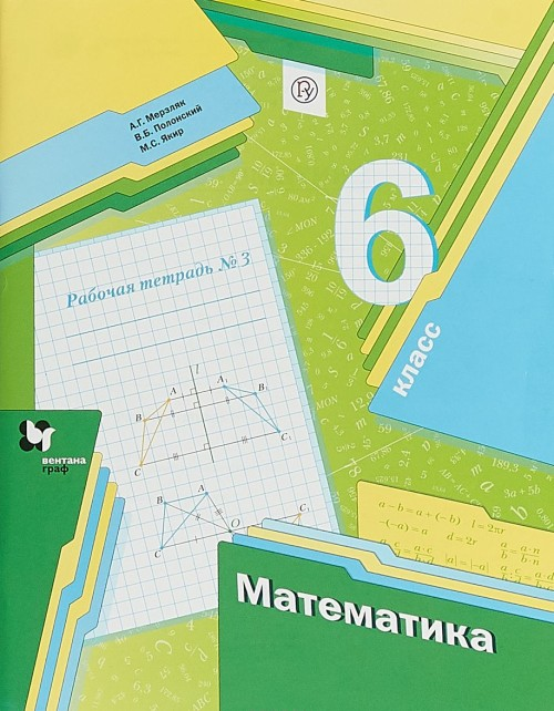 Matematika. 6klass. Rabochaja tetrad №3