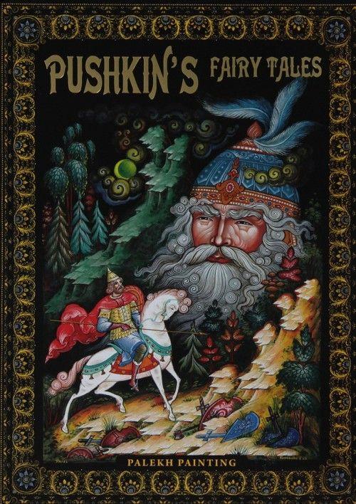 Pushkins Fairy Tales. Palekh Painting