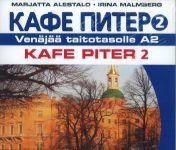 Kafe Piter 2. CD (4CD) Venäjää taitotasolle A2
