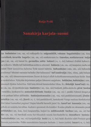 Suomi Karjala Sanakirja