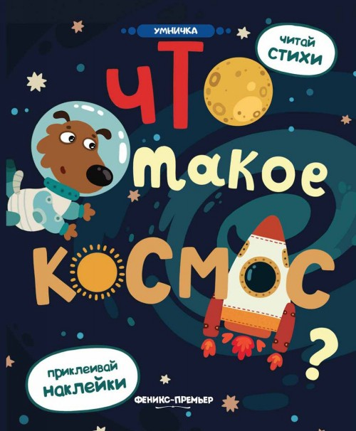 Что такое космос? Книжка с наклейками