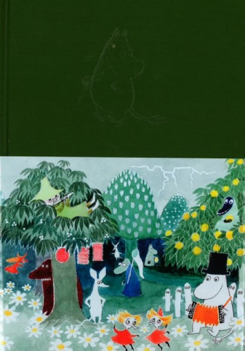 Guess what happens next?  story of the Moomin books