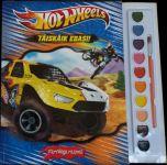 Hot wheels. täiskäik edasi! värvidega raamat