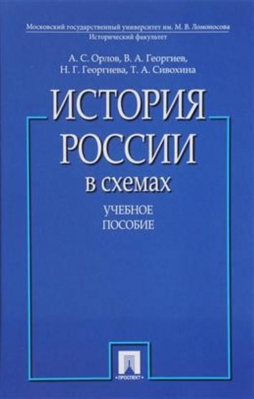 Istorija Rossii v skhemakh.Uchebnoe posobie