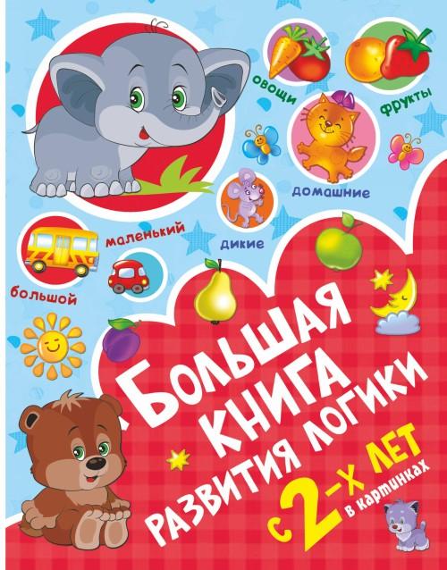 Bolshaja kniga razvitija logiki s 2-kh let