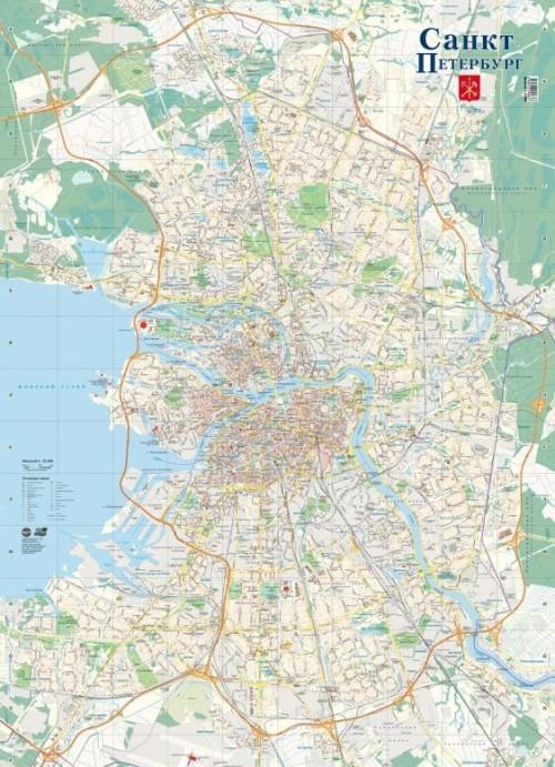 Подробная фото карта спб