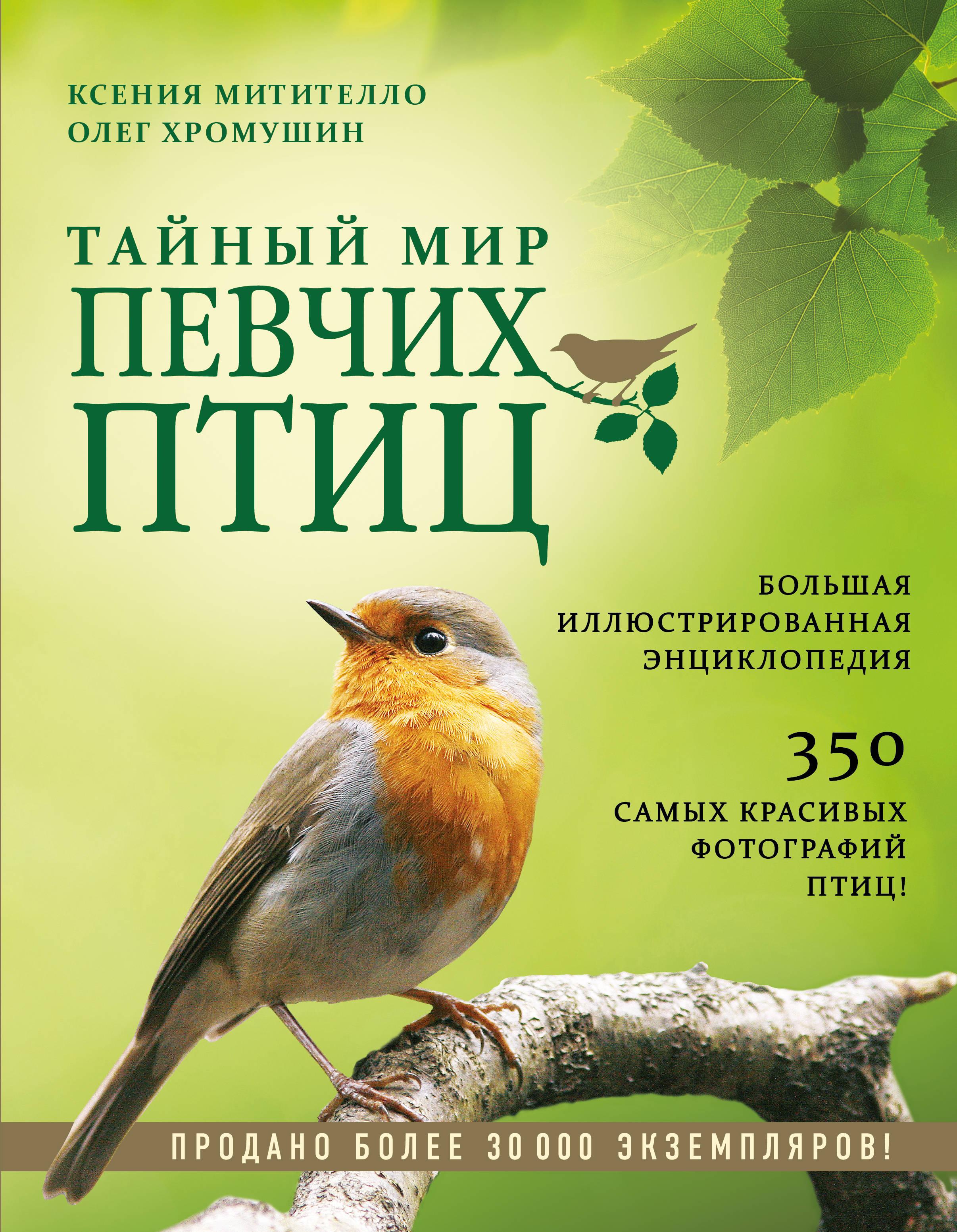 Tajnyj mir pevchikh ptits. Bolshaja illjustrirovannaja entsiklopedija
