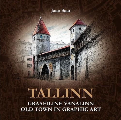 Tallinn. graafiline vanalinn. old town in graphic art