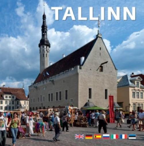 Tallinn värviline pildialbum väike