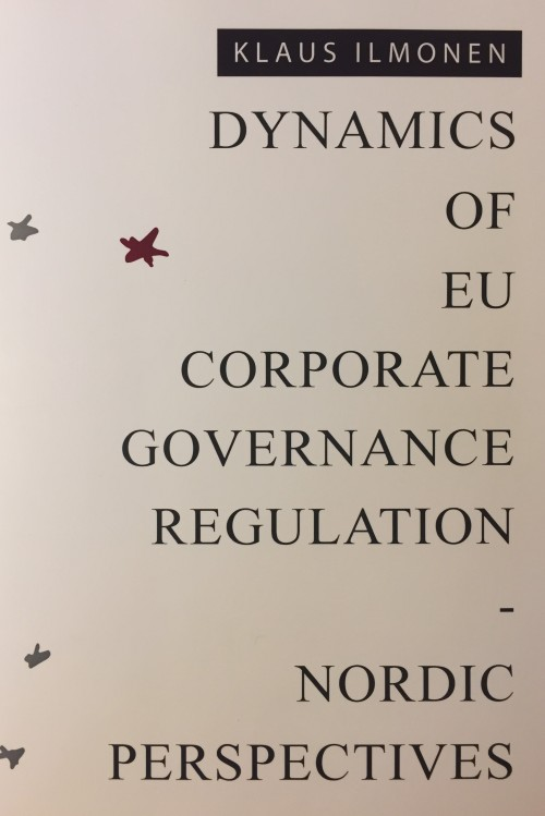 Dynamics of EU Corporate Governance Regulation - Nordic Perspectives