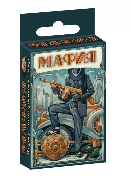 Mafija. Ekskljuzivnye avtorskie illjustratsii (nabor kartochek v kartonnoj korobke)