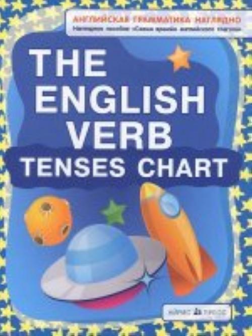 The English Verb Tenses Chart / Skhema vremen anglijskogo glagola. Nagljadnoe posobie