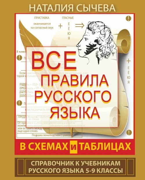 Vse pravila russkogo jazyka v skhemakh i tablitsakh dlja nachalnoj shkoly