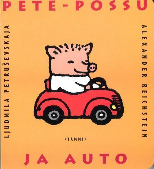 Pete-possu ja auto