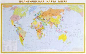 Politicheskaja karta mira