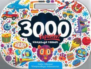3000 KLEEPSUGA RAAMAT