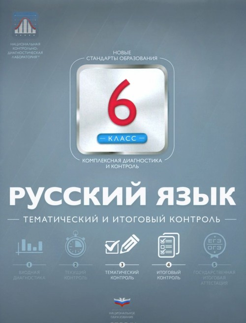 Russkij jazyk. 6 klass. Tematicheskij i itogovyj kontrol