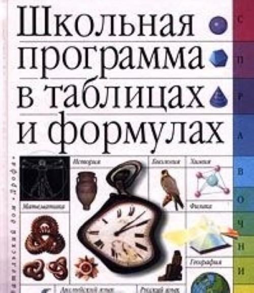 Школьная программа в таблицах и формулах. Большой универсальный справочник