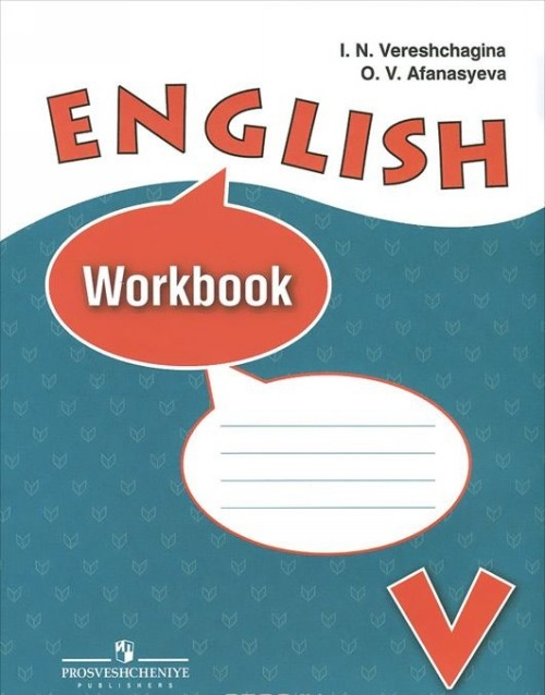 English 5: Workbook / Anglijskij jazyk. 5 klass. Rabochaja tetrad