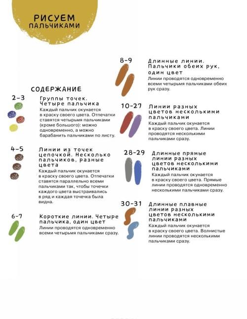 Risuem palchikami. 6 uroven (+ naklejki)