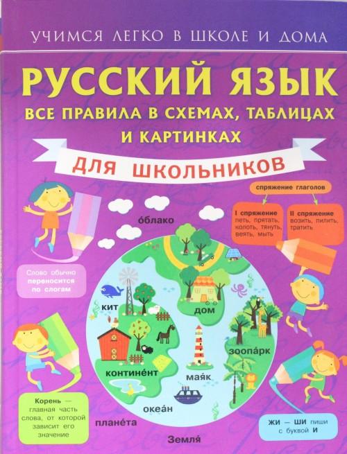 Russkij jazyk. Vse pravila v skhemakh, tablitsakh i kartinkakh