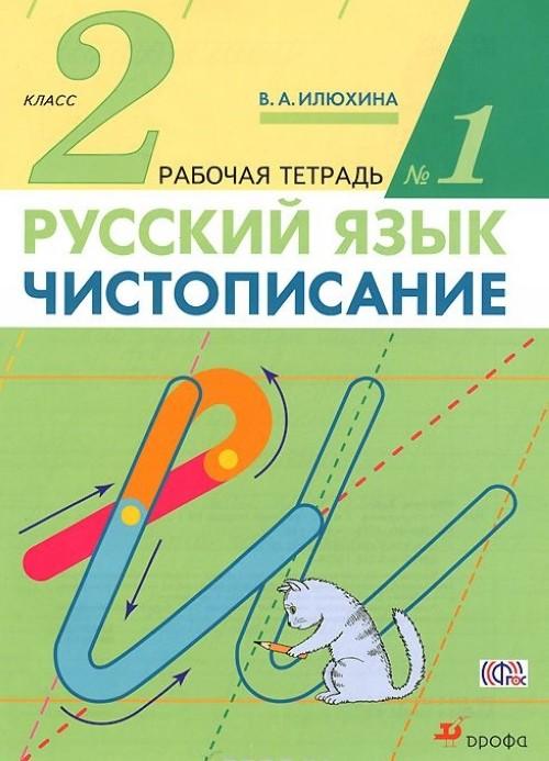 Russkij jazyk. Chistopisanie. 2 klass. Rabochaja tetrad №1