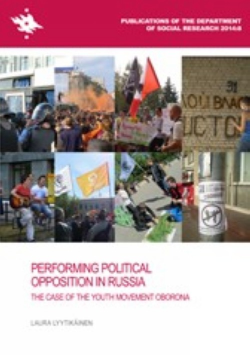 Performing Political Opposition in Russia. The case of the youth movement oborona