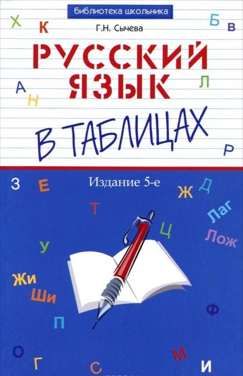 Russkij jazyk v tablitsakh