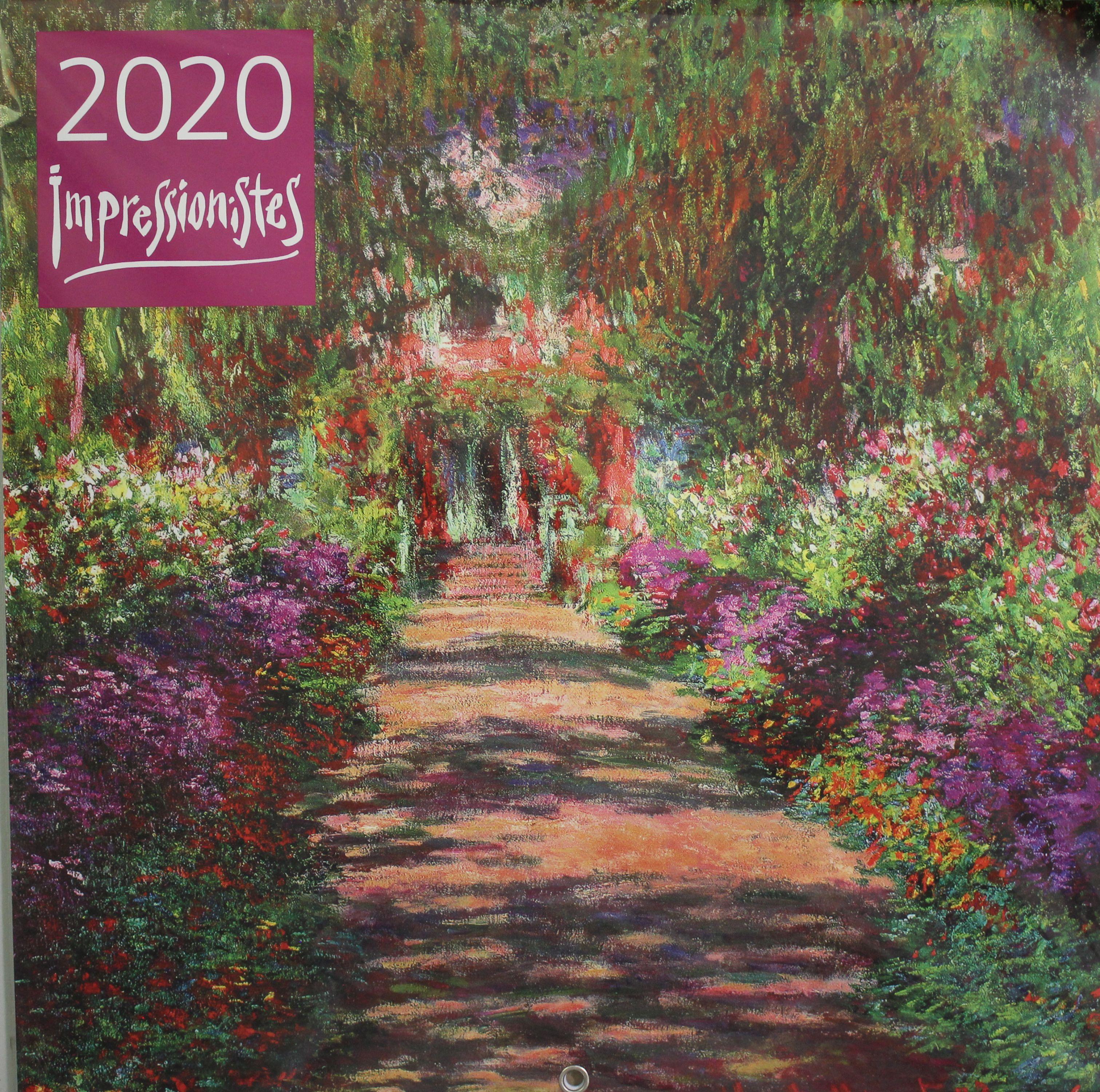Импрессионисты. Календарь настенный на 2020 год (300х300 мм)