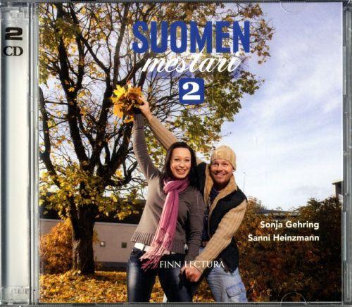Suomen mestari 2. CD. Учебник заказывается отдельно.