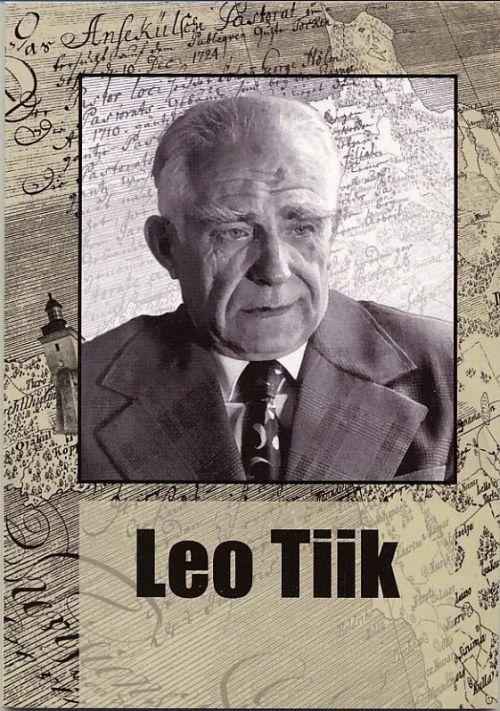 Eesti maateadlasi 5. Leo Tiik