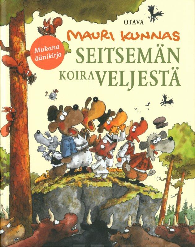 Seitsemän koiraveljestä (+2 cd äänikirja). Koiramainen versio Aleksis Kiven romaanista Seitsemän veljestä
