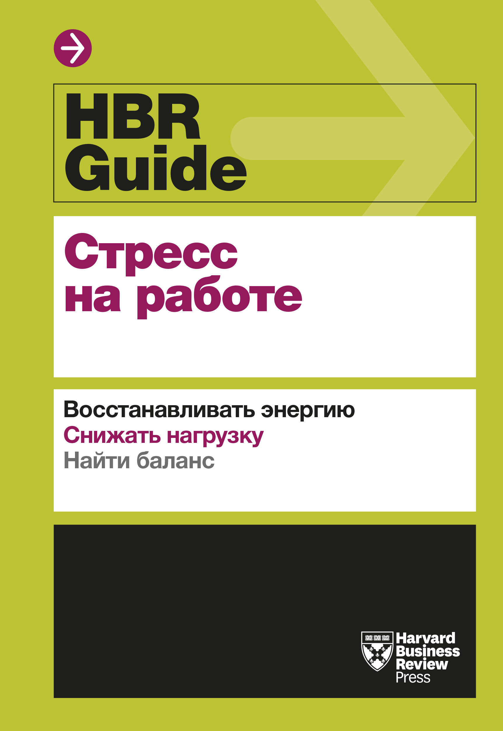 HBR Guide. Stress na rabote
