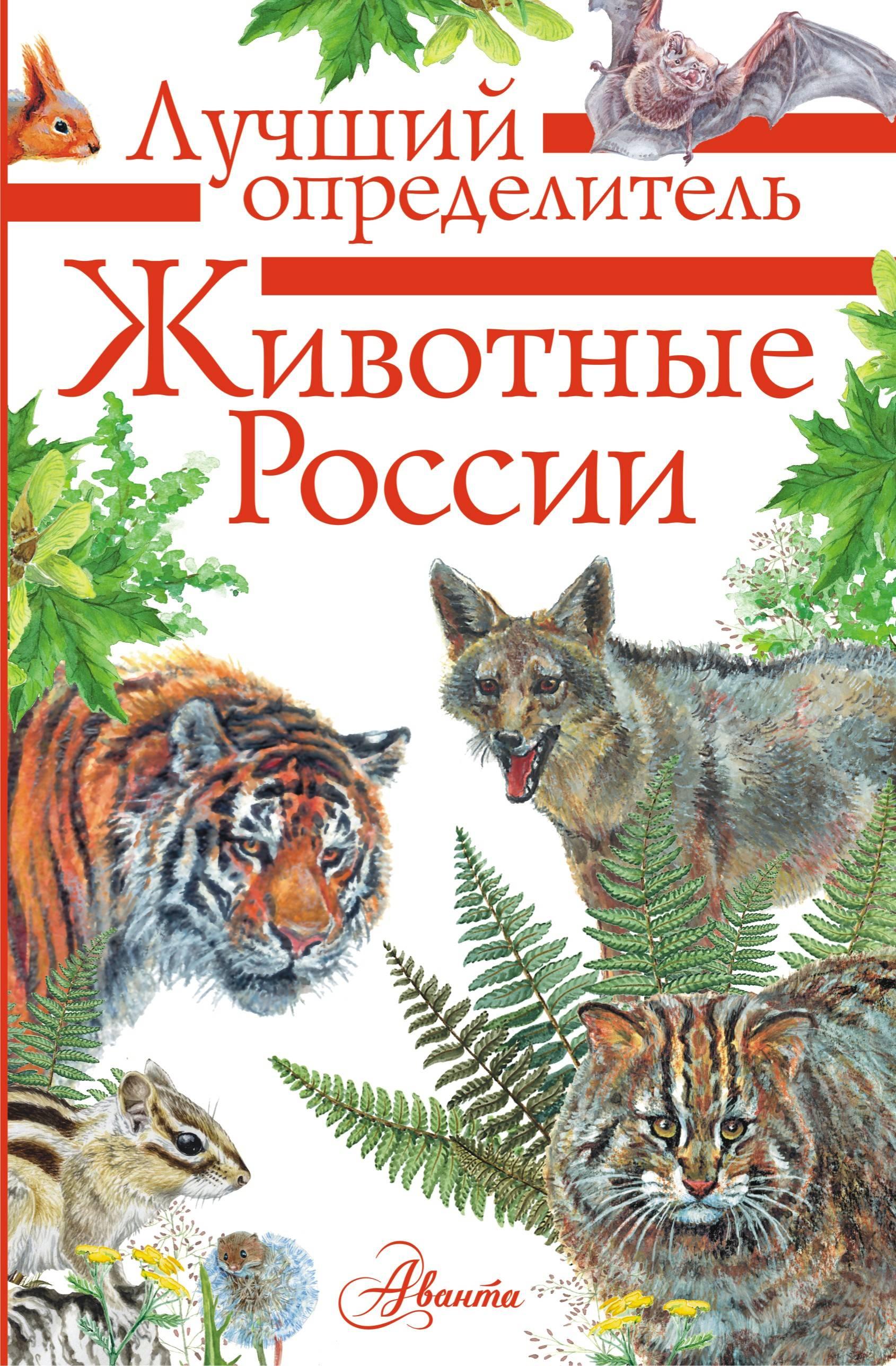 Zhivotnye Rossii. Opredelitel
